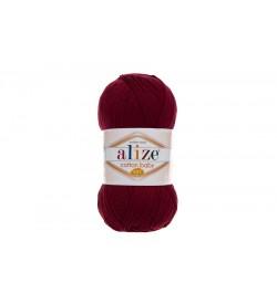 Alize Cotton Baby Soft Bordo-57