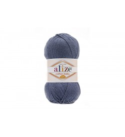 Alize Cotton Baby Soft Denim Melanj-203