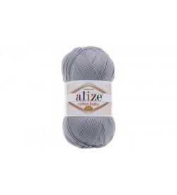 Alize Cotton Baby Soft Gri Melanj-21
