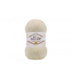 Alize Cotton Baby Soft Krem-1