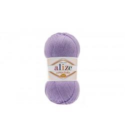 Alize Cotton Baby Soft Lila-547