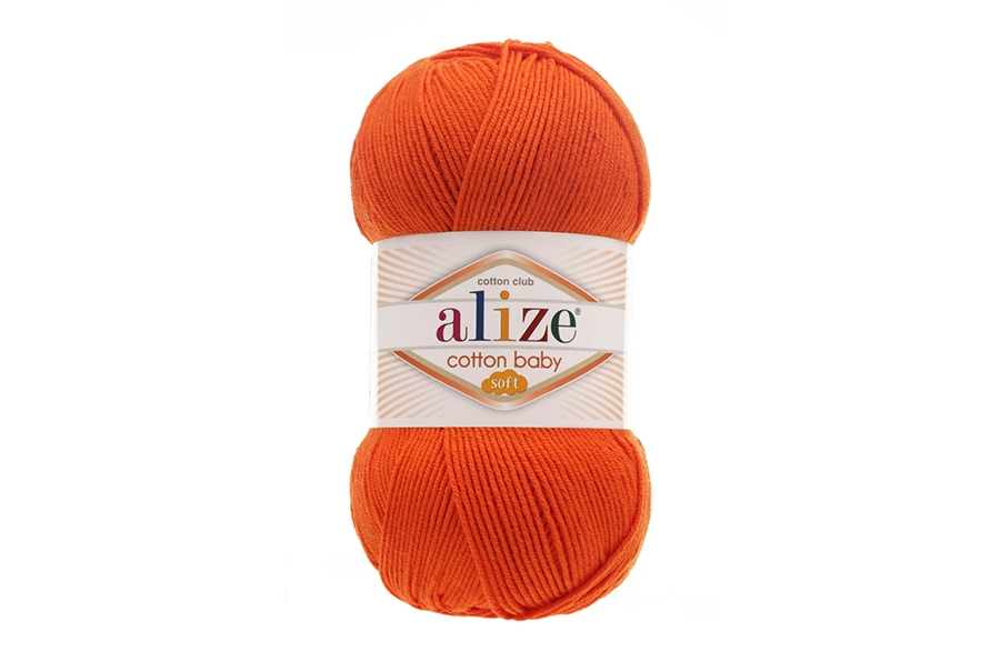 Alize Cotton Baby Soft Turuncu-37