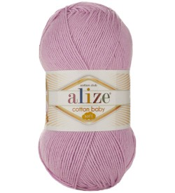 Alize Cotton Baby Soft Pembe 191