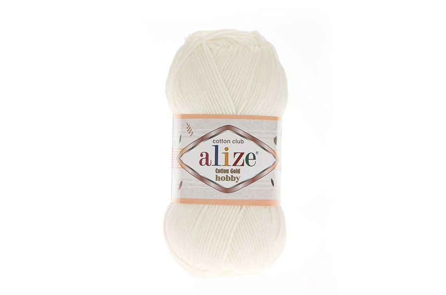Alize Cotton Gold Hobby Açık Krem-62