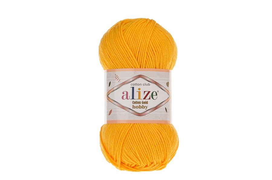 Alize Cotton Gold Hobby Koyu Sarı-216
