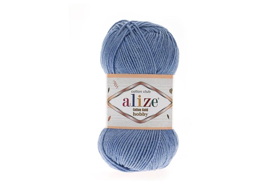 Alize Cotton Gold Hobby Mavi Melanj-374
