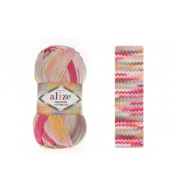 Alize Cotton Gold Plus Multi Color 52196