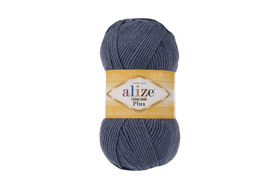 Alize Cotton Gold Plus Denim Melanj-203
