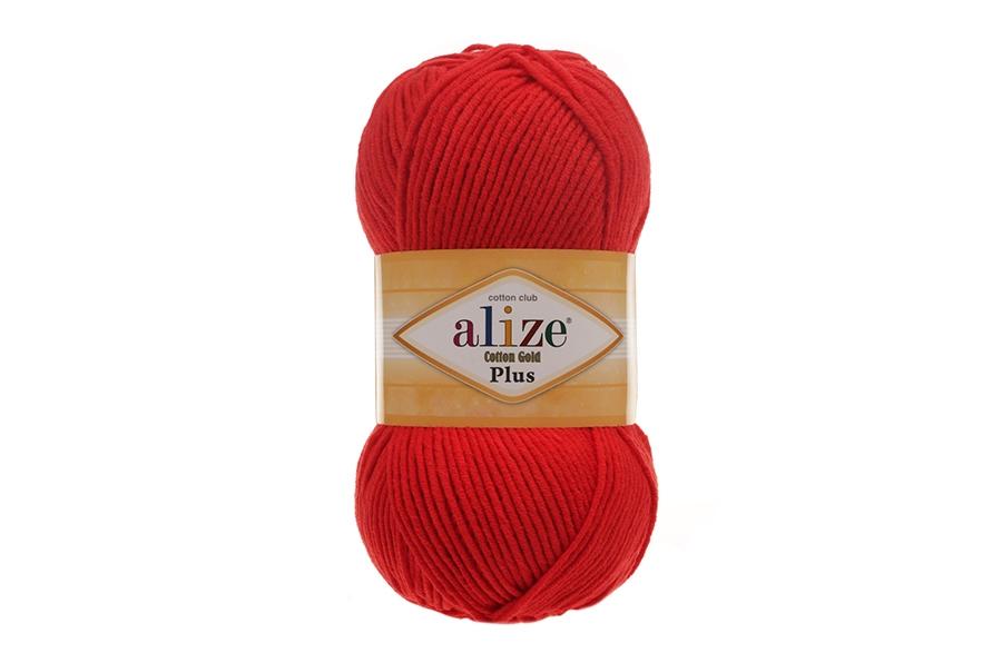 Alize Cotton Gold Plus Kırmızı-56