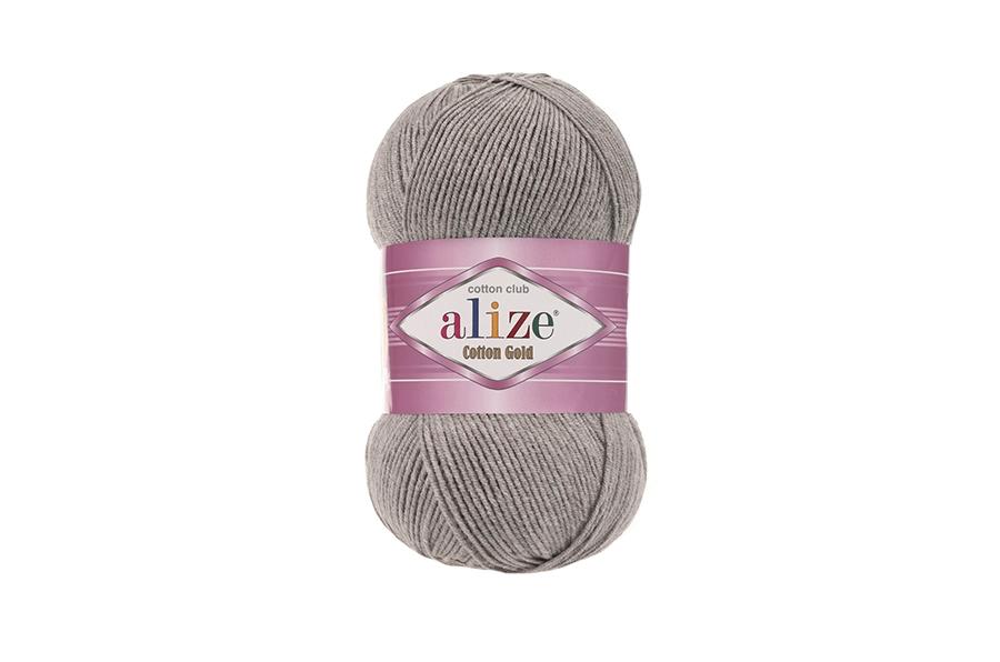 Alize Cotton Gold Gri Melanj-21