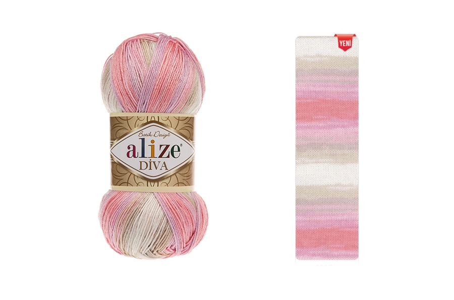 Alize Diva Batik 2807