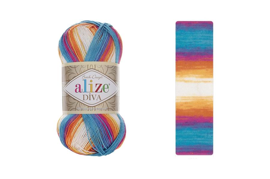 Alize Diva Batik 4538