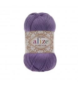 Alize Forever El Örgü İpi Menekşe-622
