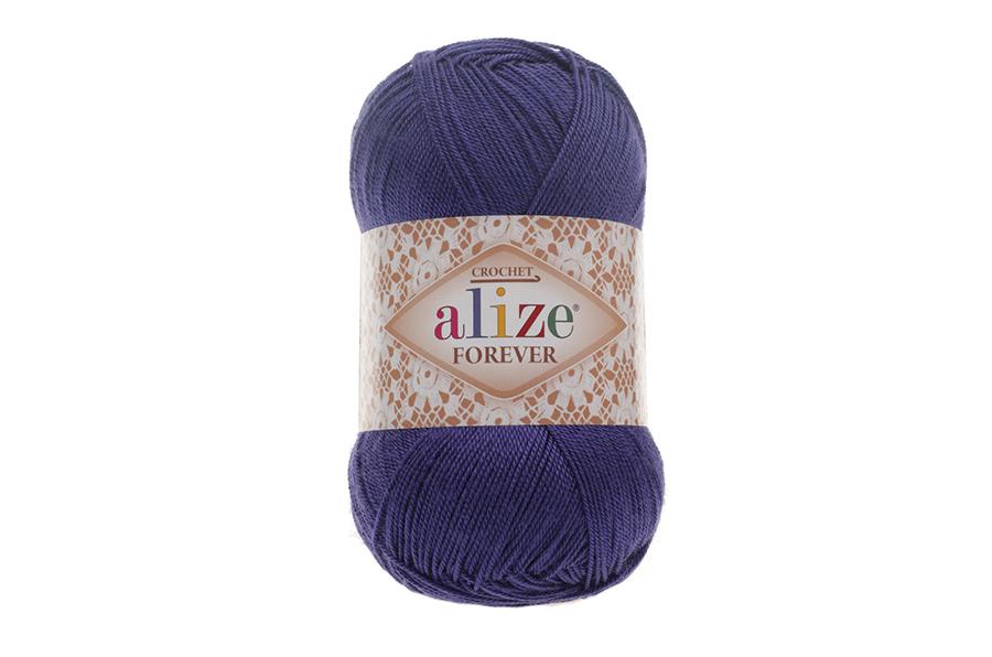 Alize Forever El Örgü İpi Saks-141