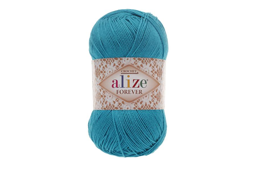 Alize Forever El Örgü İpi Turkuaz-16