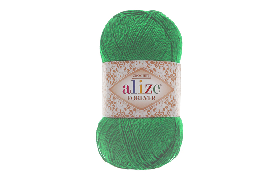 Alize Forever El Örgü İpi Çimen-328