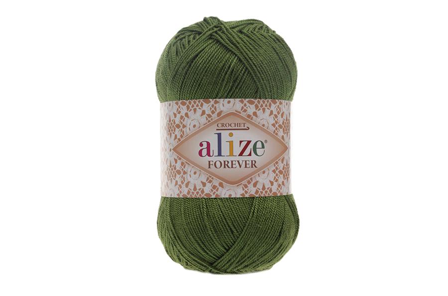 Alize Forever El Örgü İpi Yeşil-35