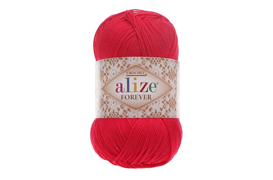 Alize Forever El Örgü İpi Gelincik-396
