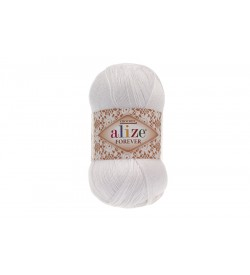 Alize Forever El Örgü İpi Beyaz-55
