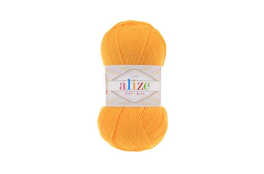 Alize Happy Baby Koyu Sarı-216