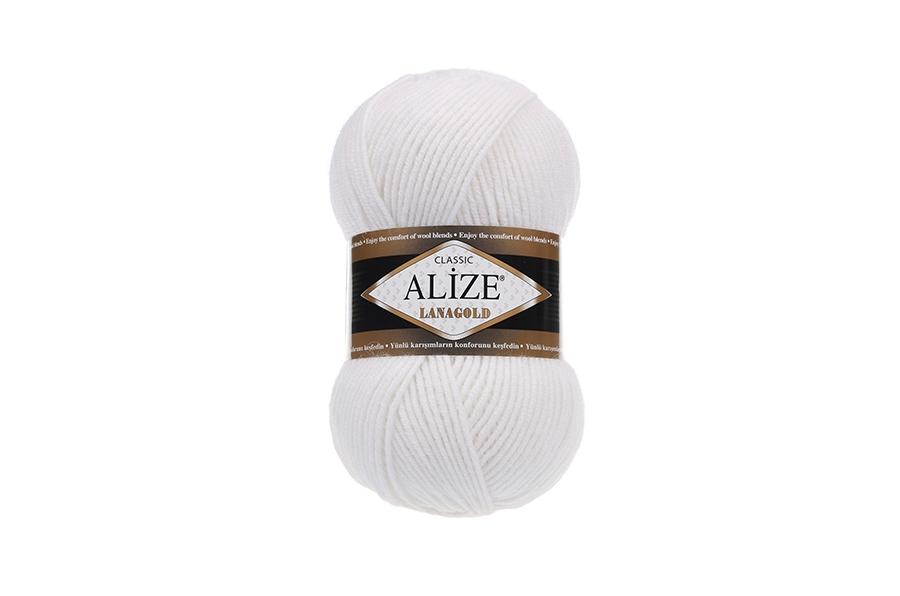 Alize Lanagold Beyaz-55