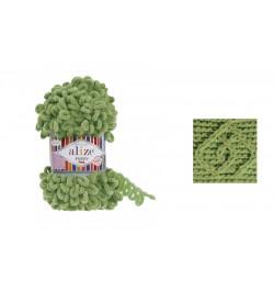 Alize Puffy Fine El Örgü İpi Kaplumbağa Yeşili-485