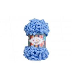 Alize Puffy Fine El Örgü İpi Mavi-112