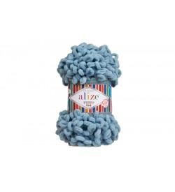 Alize Puffy Fine El Örgü İpi Alacakaranlık Mavi-280