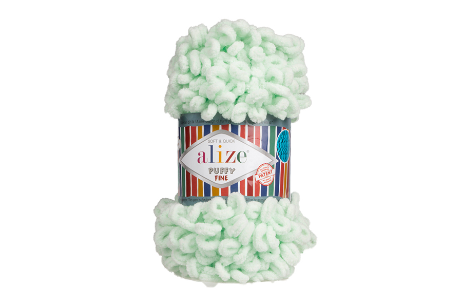 Alize Puffy Fine El Örgü İpi Mint-464