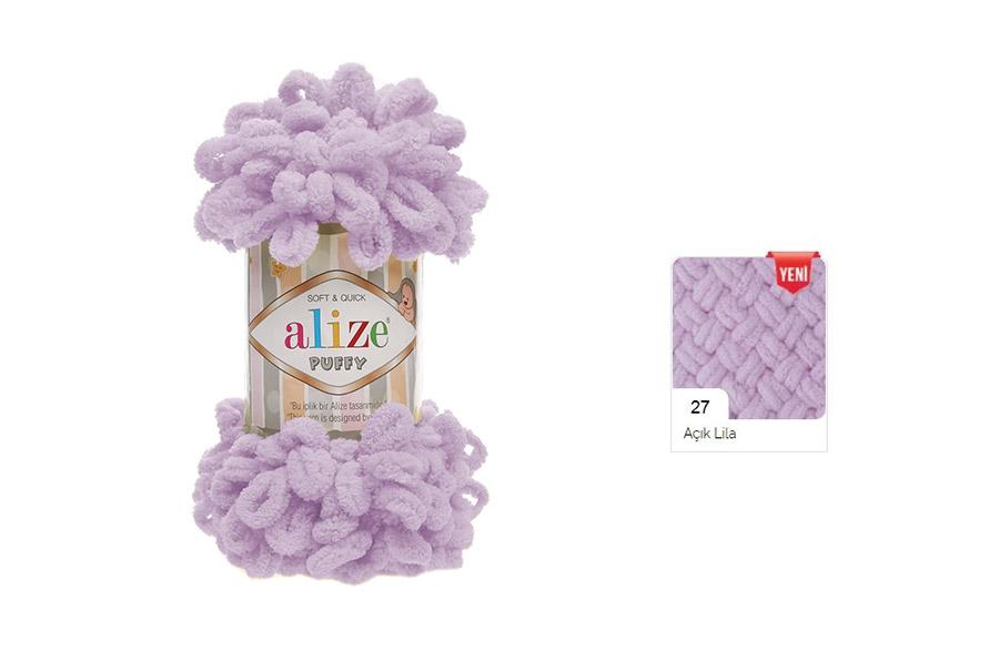 Alize Puffy Açık Lila-27