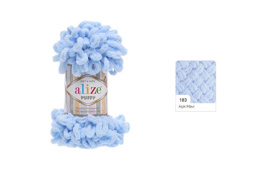 Alize Puffy Açık Mavi-183