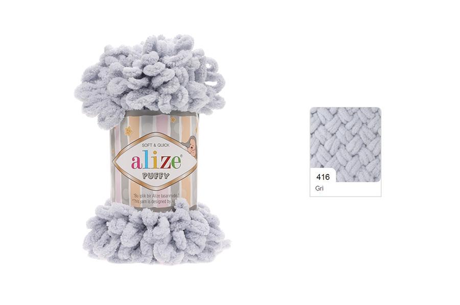 Alize Puffy Gri-416