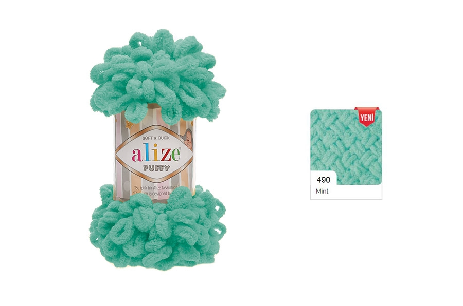 Alize Puffy Mint-490