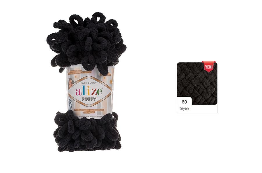 Alize Puffy Siyah-60