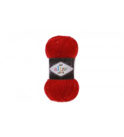 Alize Şal Abiye Kırmızı-56