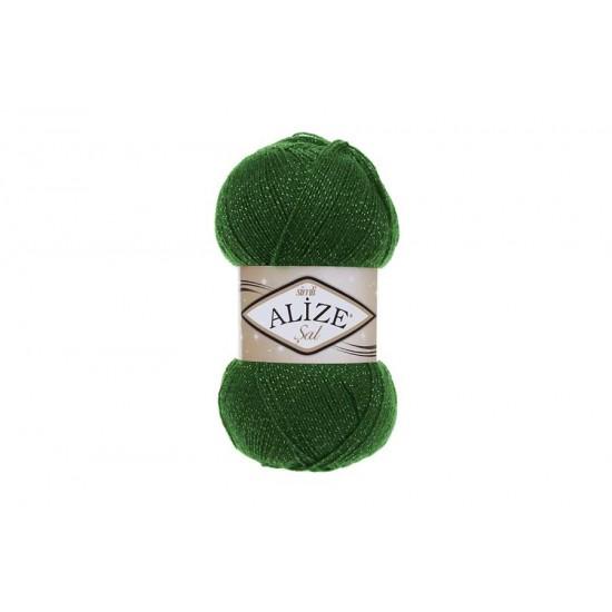 Alize Şal Simli Yeşil-118