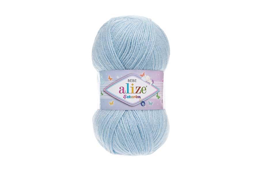 Alize Şekerim Bebe Açık Mavi-183