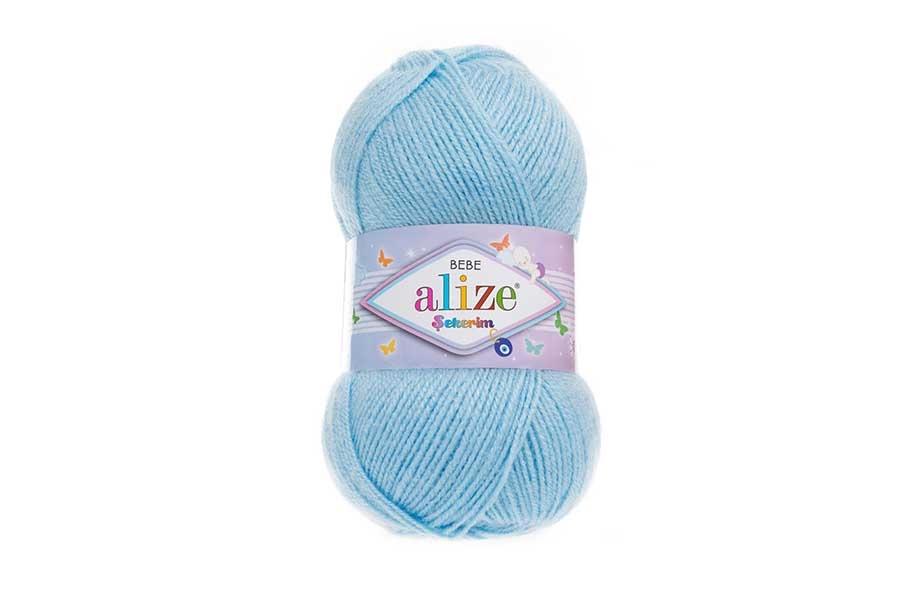 Alize Şekerim Bebe Açık Mavi-40