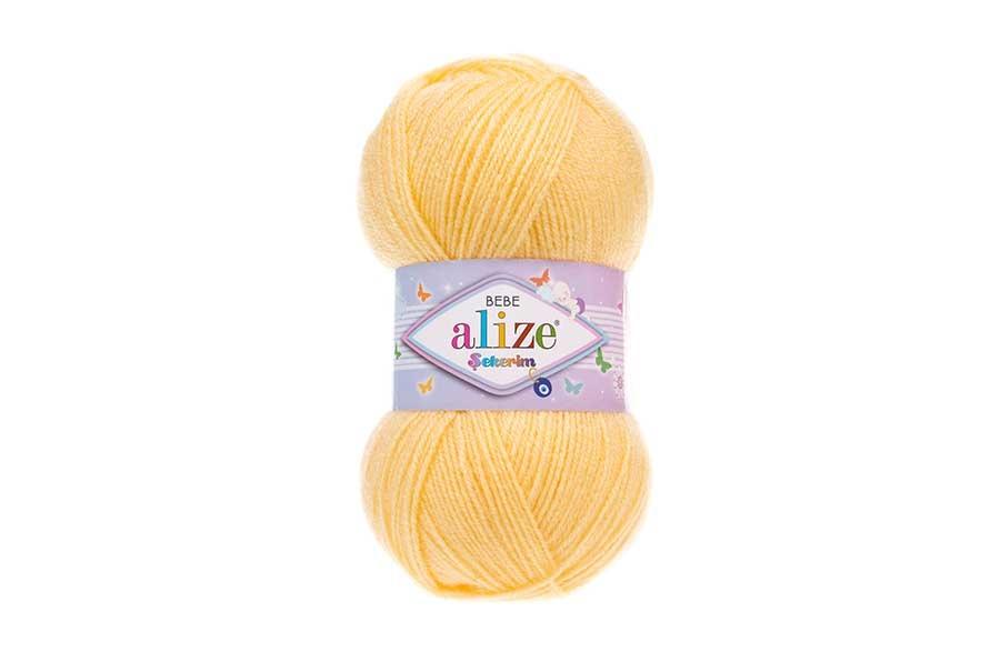 Alize Şekerim Bebe Açık Sarı-187