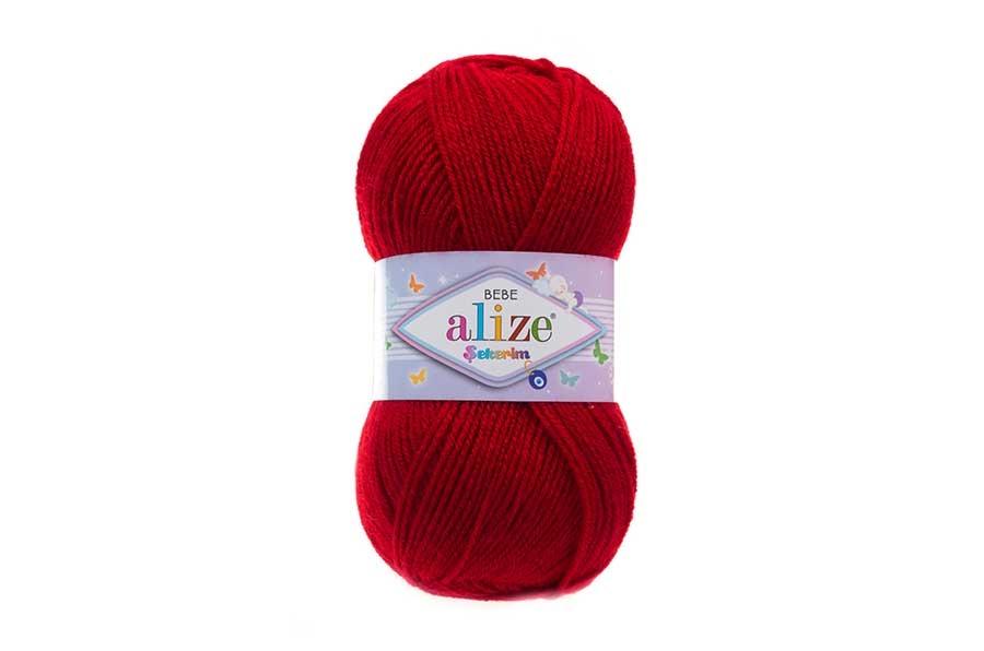 Alize Şekerim Bebe Koyu Kırmızı-106
