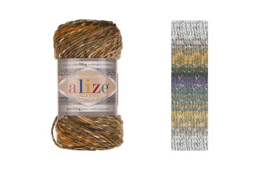 Alize Show Punto Batik Design 6367