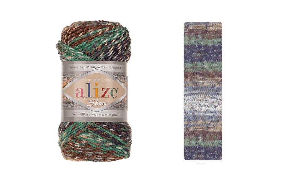 Alize Show Punto Batik Design 6679