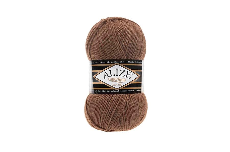 Alize Superlana Klasik Sütlü Kahve-584