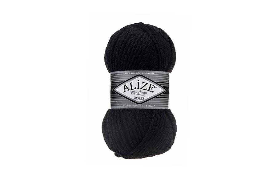 Alize Superlana Maxi Siyah-60