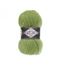 Alize Superlana Midi Kaplumbağa Yeşili 485