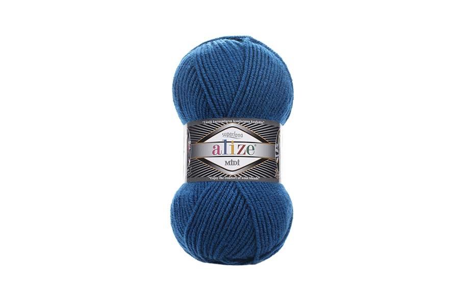 Alize Superlana Midi Mikanos Mavi-155