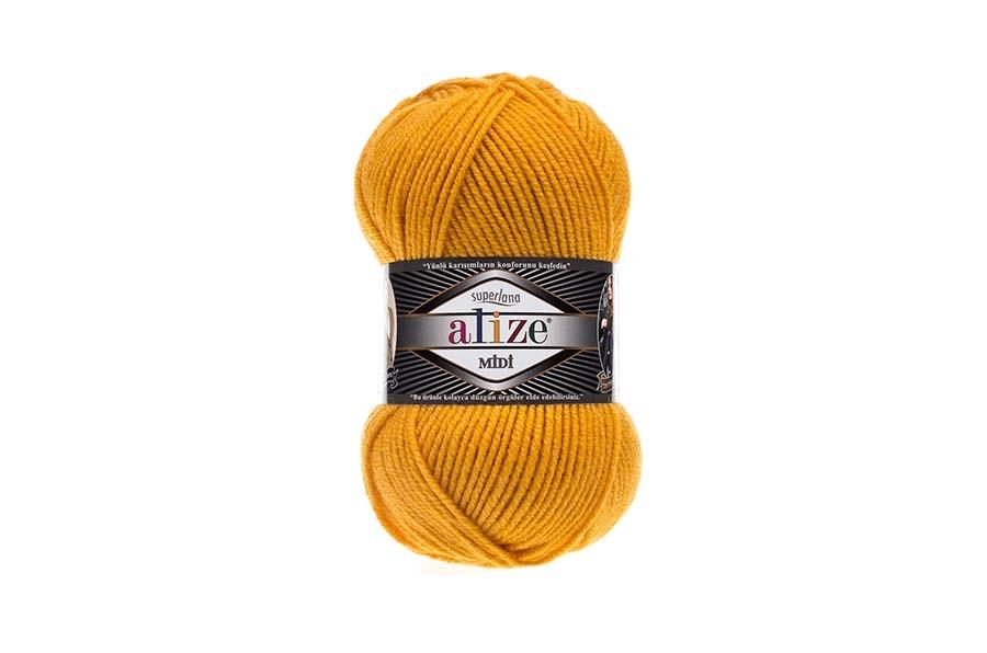 Alize Superlana Midi Sarı-488