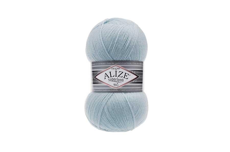 Alize Superlana Tığ Buz Mavisi-514