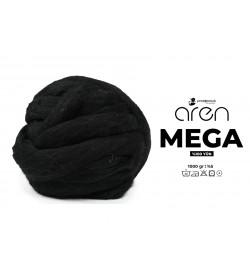 Aren Mega Dev Yün Siyah 1000 Gr