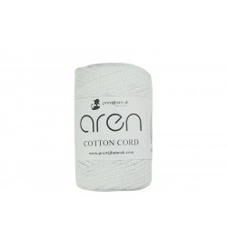 Aren Cotton Cord Beyaz 33